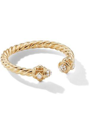 David Yurman Senhora Anéis - 18kt yellow 2.3mm Renaissance diamond ring