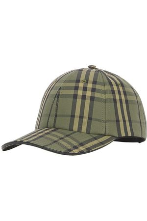 Burberry Homem Chapéus - Check-print canvas baseball cap