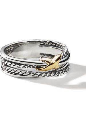 David Yurman Senhora Anéis - Sterling crossover X ring
