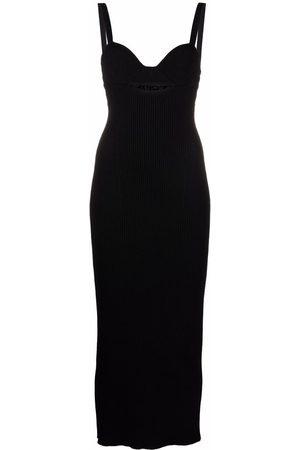 MAGDA BUTRYM Senhora Vestidos Casual - Ribbed-knit fitted midi dress