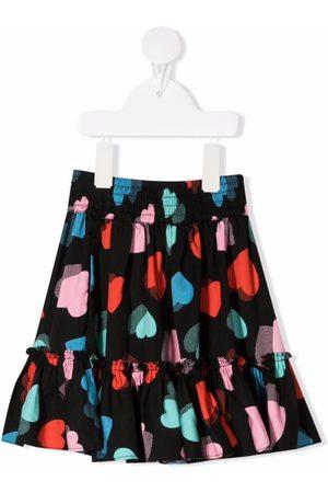 Stella McCartney Hearts twill skirt