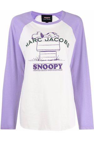 Marc Jacobs Senhora Camisolas sem capuz - Baseball Peanuts print sweater