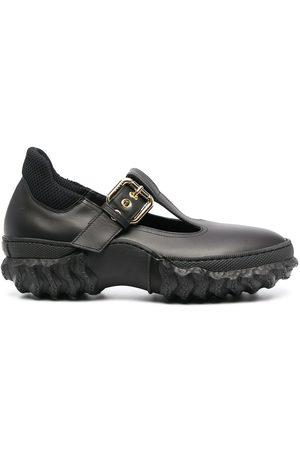 Marni Ridged-sole Mary Jane shoes