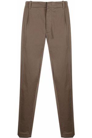 Z Zegna Homem Calças Chino - Stretch-cotton chino trousers