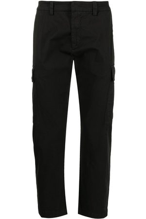 Iceberg Pressed-crease stretch-cotton tailored trousers