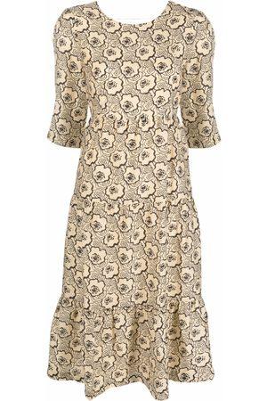 Bash Gabie floral-print dress