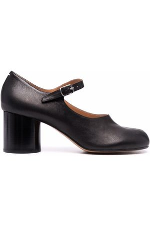 Maison Margiela Tabi block-heel ankle-strap pumps