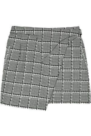 WARDROBE.NYC Wrapped mini skirt