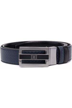 Bally Homem Cintos - Owen woven leather belt