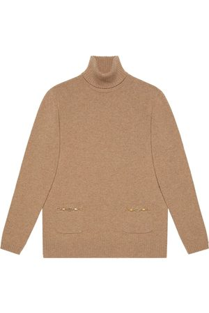 Gucci Senhora De gola alta - Interlocking G knitted turtleneck jumper