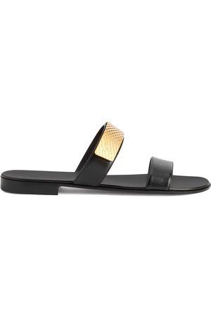 Giuseppe Zanotti Homem Sandálias - Zak strap-detail sandals