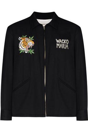 Wacko Maria X Tim Lehi Vietnam tiger-embroidered shirt jacket