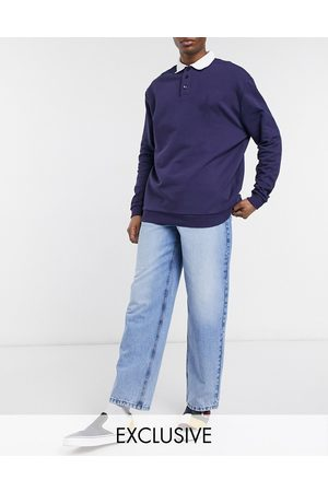 Reclaimed Homem Retos - Inspired 90's baggy jean in light blue responsible wash