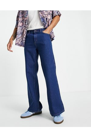 Topman Homem Bootcut & Boca-de-sino - Flared jeans in bright blue