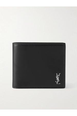 Saint Laurent Homem Bolsas & Carteiras - Logo-Appliquéd Leather Billfold Wallet