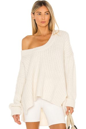 Free People Senhora Camisolas sem capuz - Blue Bell V Neck Sweater in - . Size L (also in XS, S, M, XL).