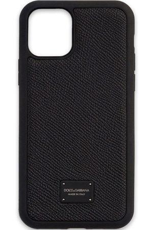 Dolce & Gabbana Homem Phones - IPhone 11 Pro logo-plaque case