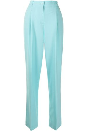 Twin-Set Pressed-crease tailored trousers