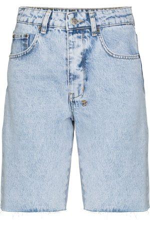Ksubi Brooklyn high-rise denim shorts
