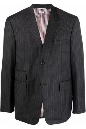Thom Browne Homem Blazers - Striped tailored blazer
