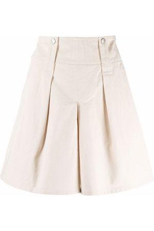 Isabel Marant Senhora Calções - A-line cotton shorts