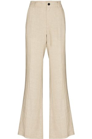 Kenneth Ize X Karl Lagerfeld flared trousers