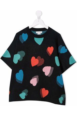 Stella McCartney Heart-pattern T-shirt