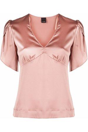 Pinko Short puff sleeve blouse
