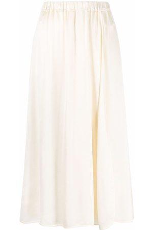 FORTE FORTE Flared midi silk skirt