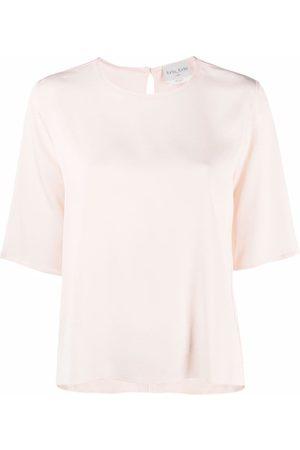 FORTE FORTE Round neck T-shirt