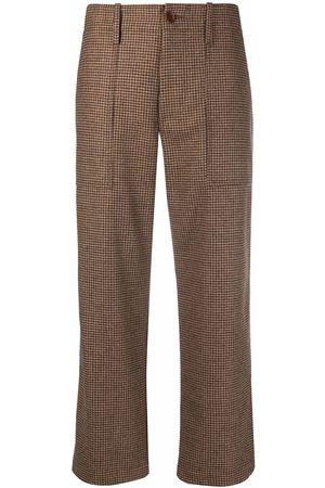 JEJIA Senhora Calças Formal - Cropped tailored trousers