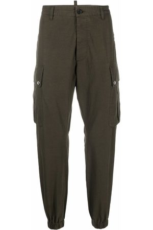 Dsquared2 Cargo-pockets cotton trousers
