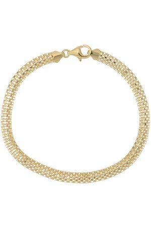 Nialaya Homem Pulseiras - Woven chain bracelet