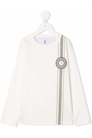 Brunello Cucinelli Kids Connect To Reality T-shirt
