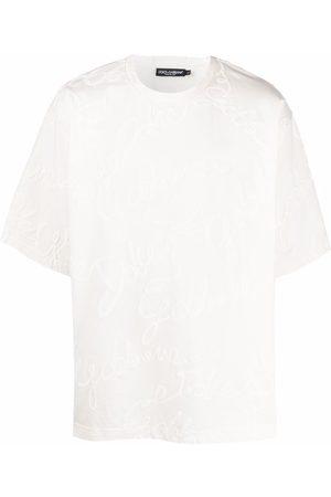 Dolce & Gabbana 3D-logo T-shirt