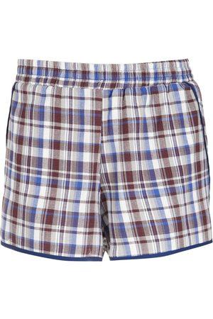 Olympiah Check Picnic shorts