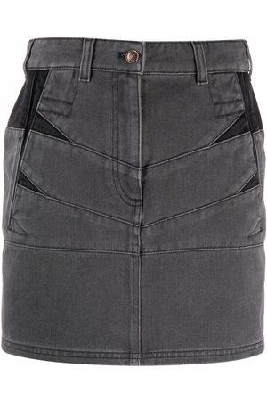 Kenzo Panelled denim skirt