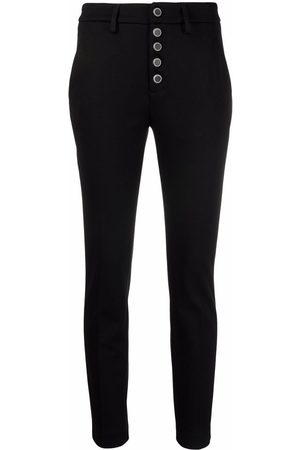 Dondup High-waisted slim-fit trousers