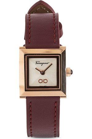 Salvatore Ferragamo Watches Gancini IP Square 19mm