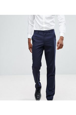 ASOS Tall slim suit trousers in navy