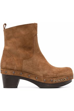 Pinko Clog-style ankle boots