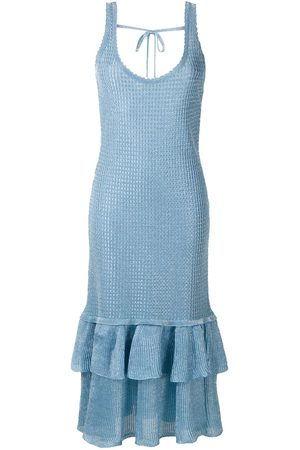 Olympiah Sable knitted midi dress