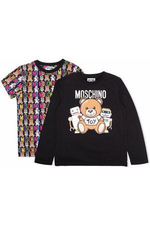 Moschino Kids Logo-print cotton T-Shirt