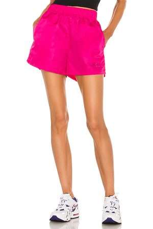WSLY The Ludlow Nylon Short in - Pink. Size L (also in M, S, XS).