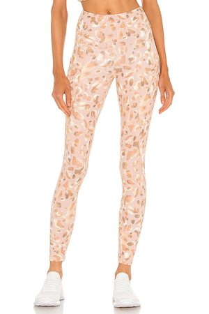 STRUT-THIS Milan Ankle Legging in - Neutral. Size L (also in M, S, XS).
