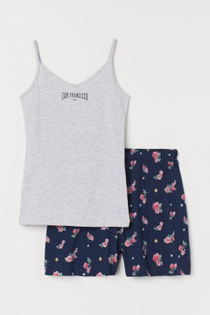 H&M Criança Pijamas - Pijama em algodão