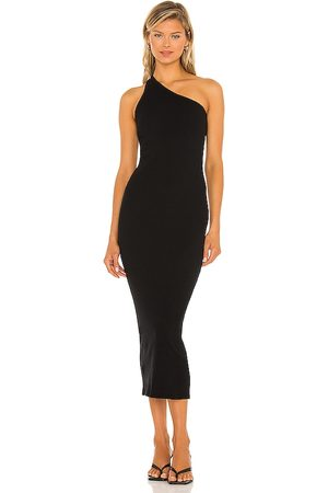 Enza Costa Recycled One Shoulder Maxi Dress in - . Size L (also in M, S, XS).
