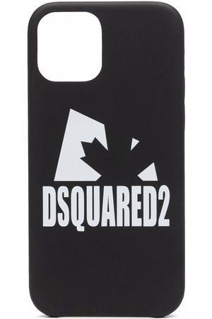 Dsquared2 Homem Phones - Logo-print iPhone 12 case
