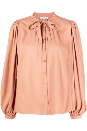 Ulla Johnson Gathered-detail long-sleeved blouse