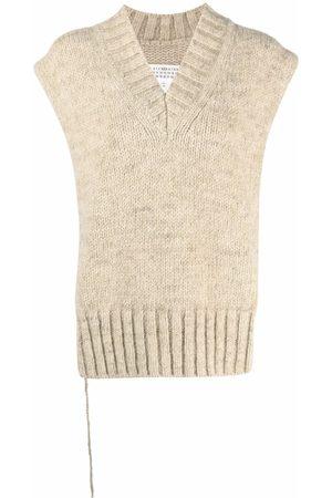 Maison Margiela Chunky-knit jumper poncho